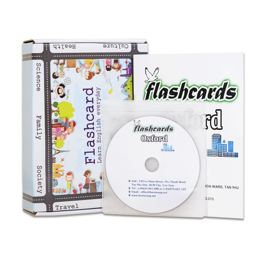 Flashcard TOEIC Basic Best Quality Kèm DVD (03CD)