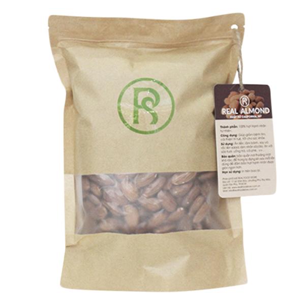 Thực Phẩm Chức Năng Hạt Dinh Dưỡng Cho Sức Khỏe Hạnh Nhân Tách Vỏ Real Almond (Túi 400g)