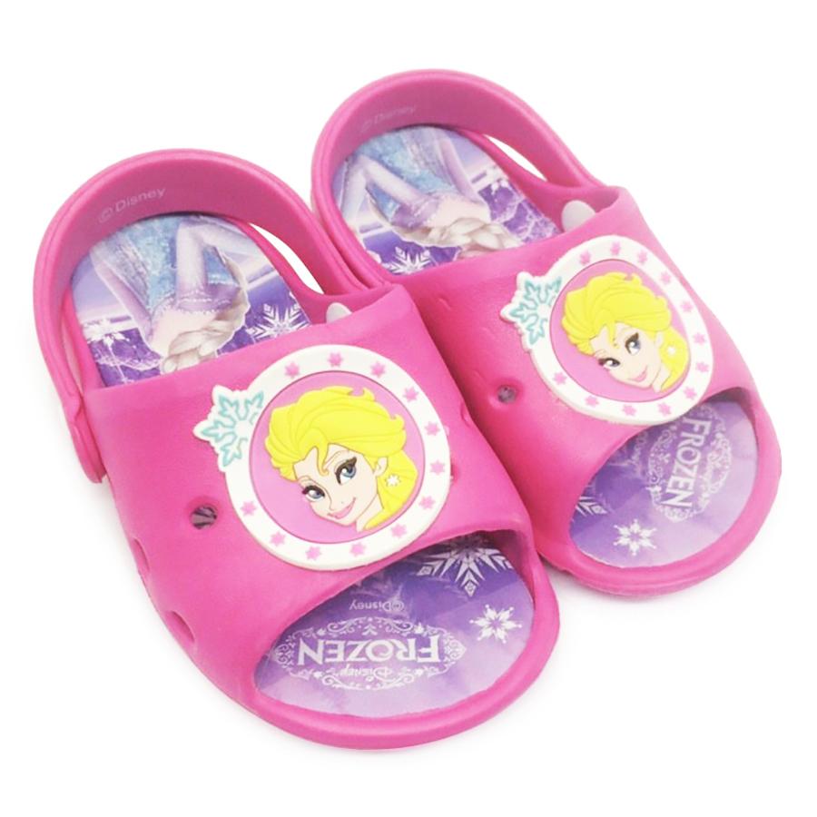 Giày Sandals Nhựa Disney Nữ Hoàng Elsa FZ086-FU - Hồng Đậm