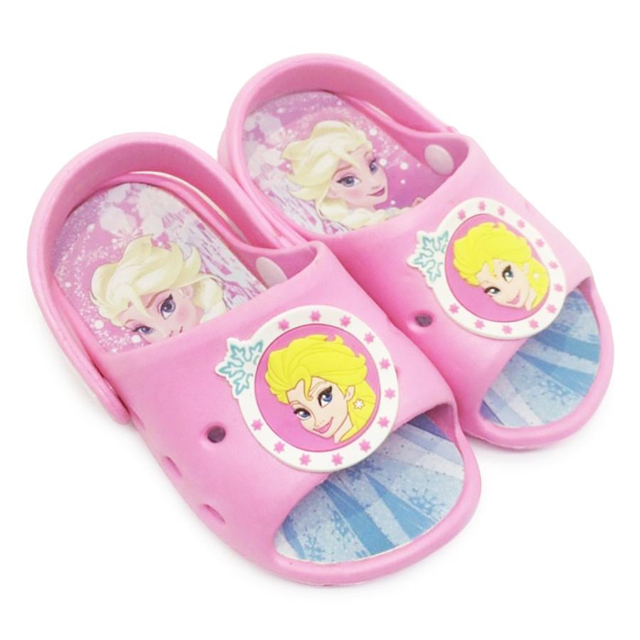 Giày Sandals Nhựa Disney Nữ Hoàng Elsa FZ086-PI - Hồng Phấn