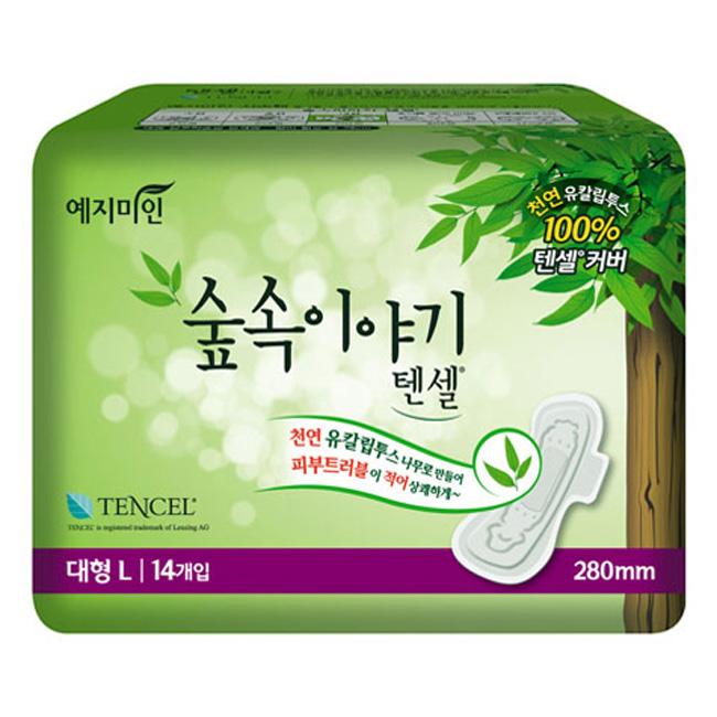 Băng Vệ Sinh Yejimiin Mild Tencel 14 Miếng Size L - 01041LYMKR