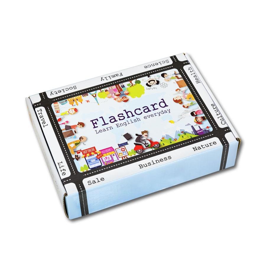 Bộ Flashcard IELTS Full High Quality Kèm DVD (02BD)