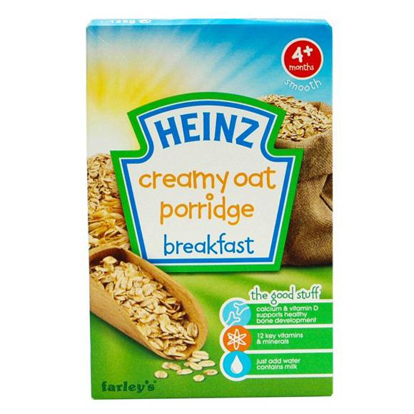 Bột Ăn Dặm Cháo Kem Yến Mạch Heinz (125g)