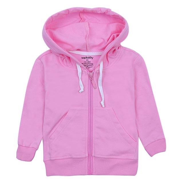 Áo Khoác Cotton Chống Nắng Bé Gái Topbaby G116016 - Màu Hồng