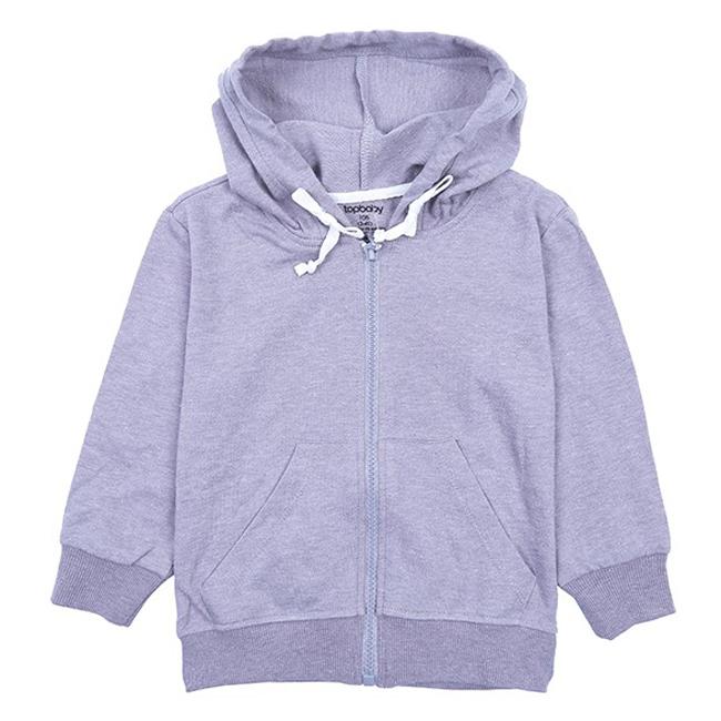 Áo Khoác Cotton Chống Nắng Bé Gái Topbaby G116020 - Màu Xám