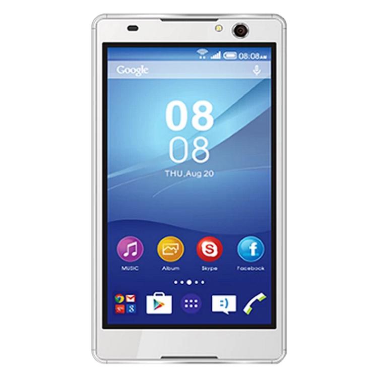 Phalet S-Mobile C5 4GB (Trắng) - Hàng Chính Hãng + Tặng Kèm Bao Da Và Kính Cường Lực