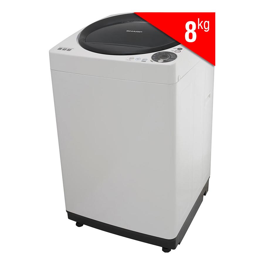 Máy Giặt Cửa Trên Sharp ES-U80GV-H (8.0 Kg)
