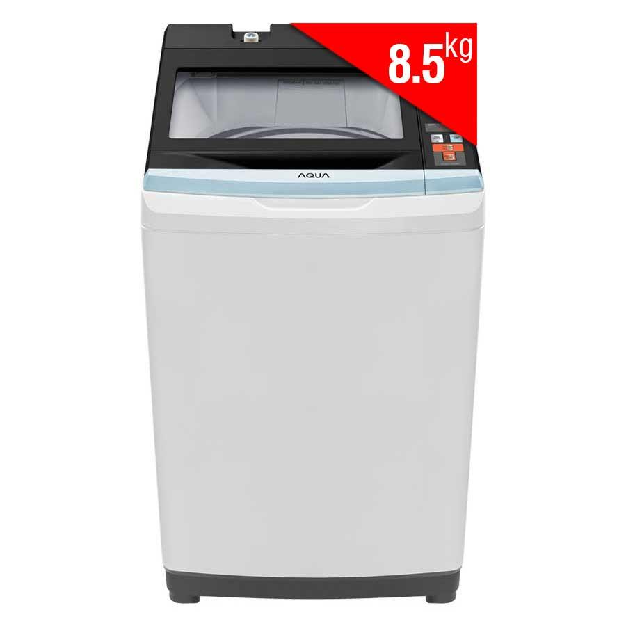 Máy Giặt Cửa Trên Aqua AQW-S85AT (8.5kg) - Xám Nhạt