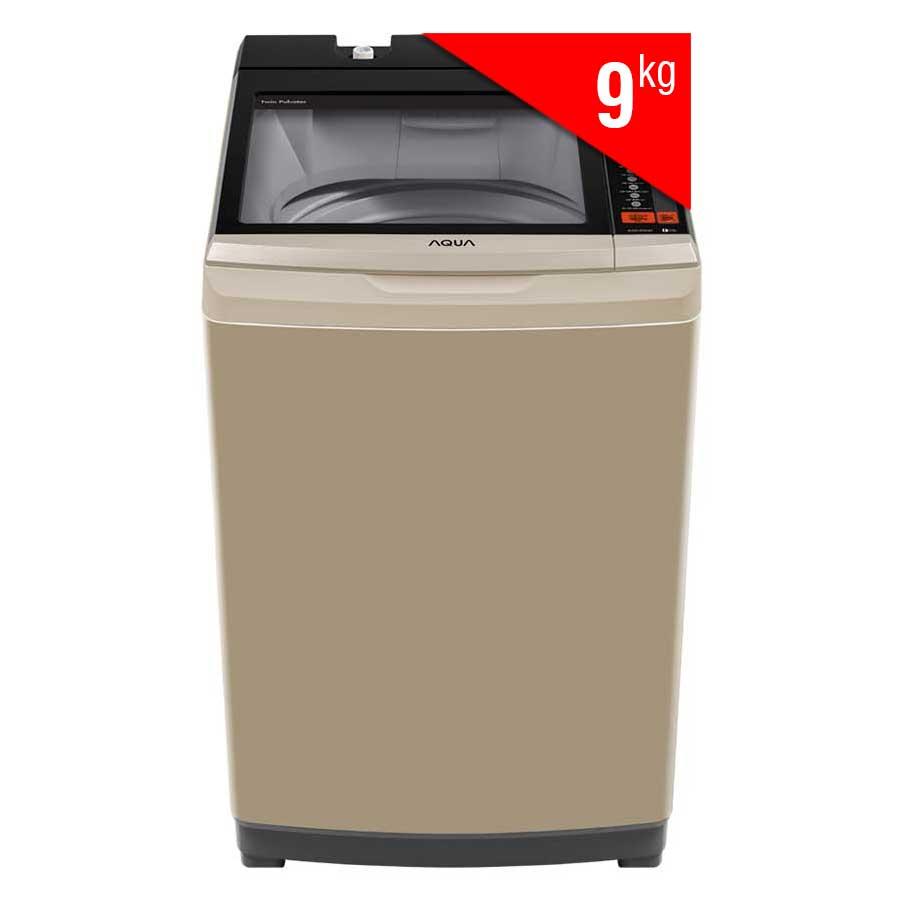 Máy Giặt Cửa Trên Aqua AQW-W90AT-N (9Kg) - Vàng Kim