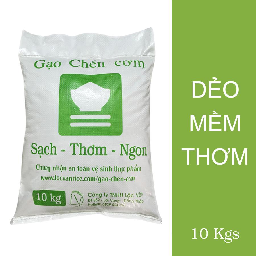Gạo Dẻo Chén Cơm Ngon (10Kg)