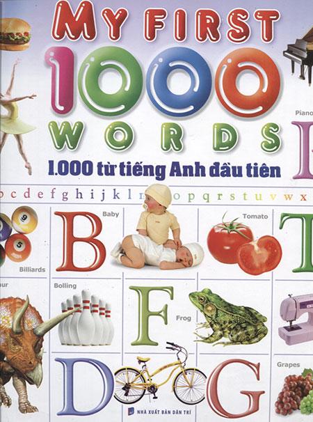 1000 Từ Tiếng Anh Đầu Tiên (Minh Long)