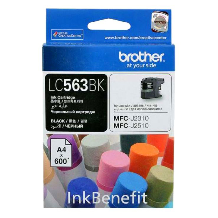 Brother LC-563BK Ink Cho MFC-J2310/J2510/J3520/J3720 (Black)