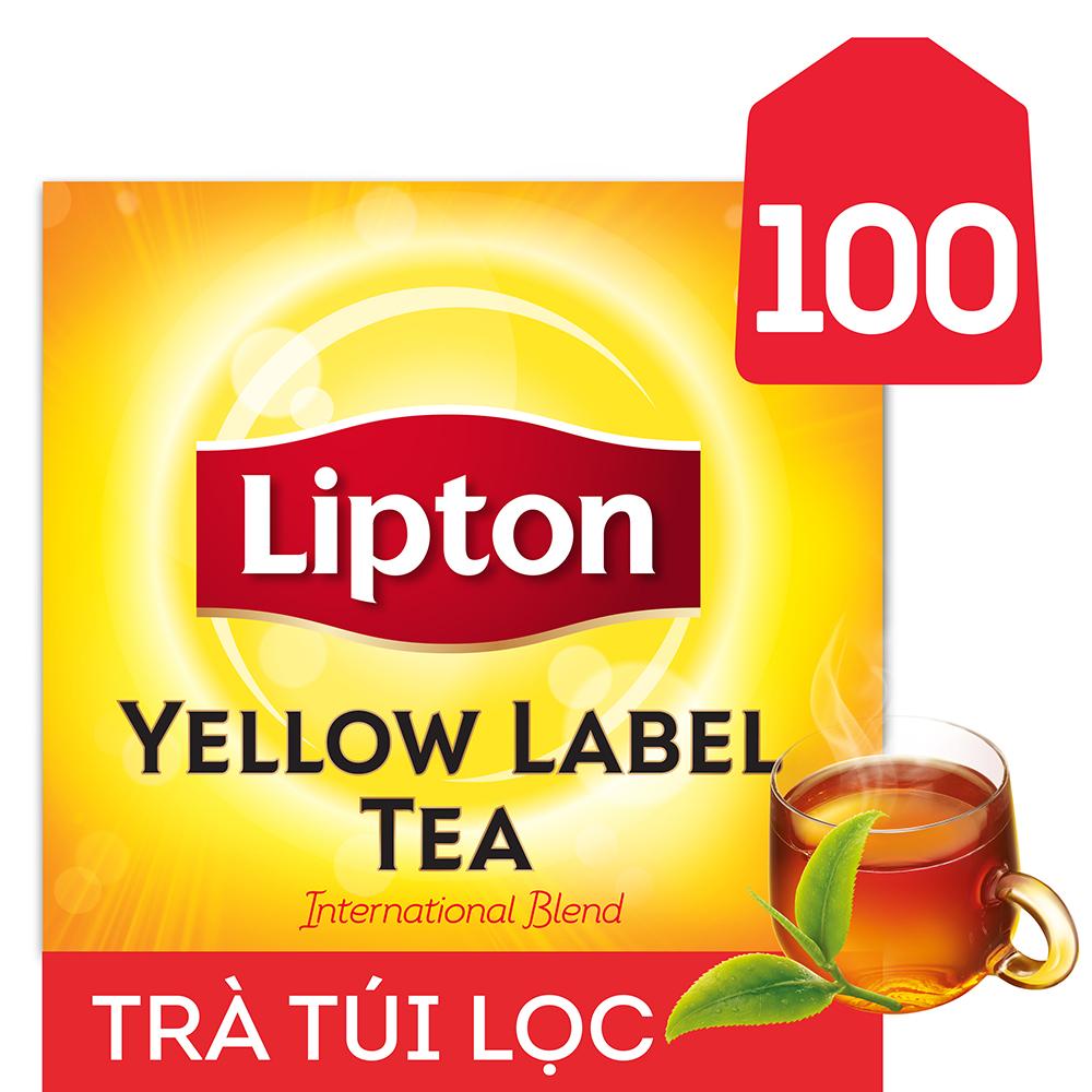 Trà Túi Lọc Lipton Nhãn Vàng (2gx100 gói) - 32014791