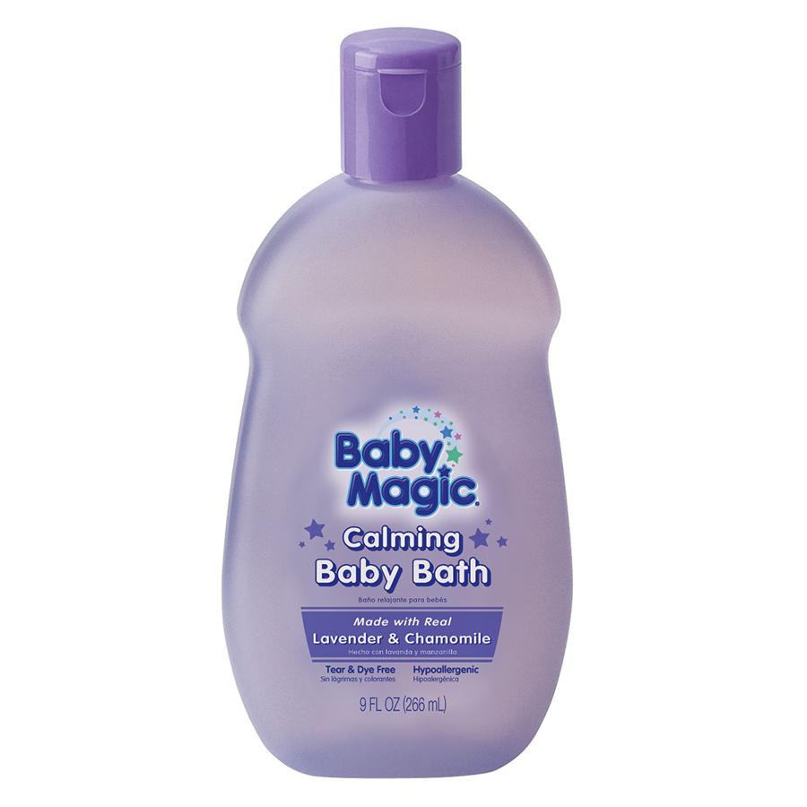 Dầu Tắm Gội Chung Baby Magic Hương Lavender Và Chamomile (266ml)