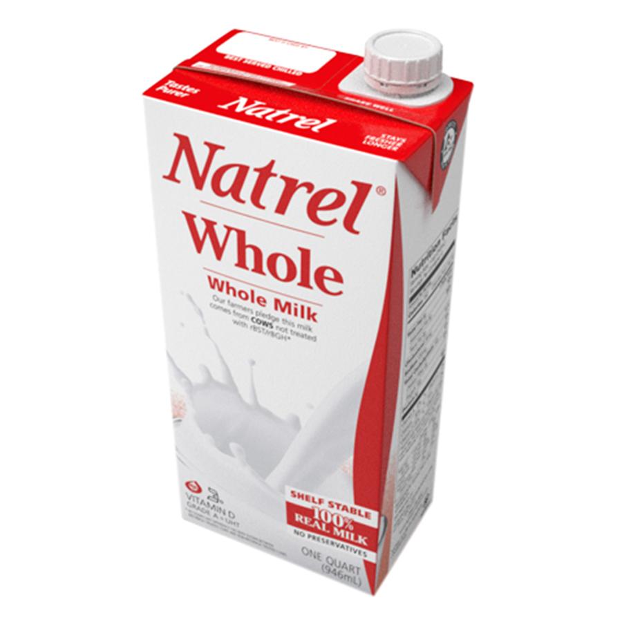 Sữa Tiệt Trùng Natrel Nguyên Kem Whole Milk (946ml)