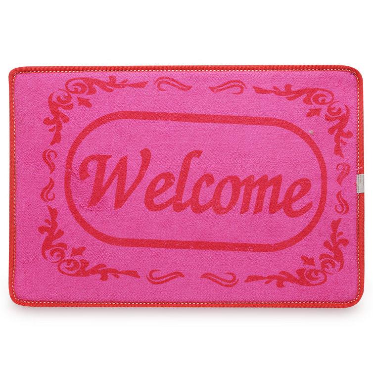 Thảm In Welcome Ohi@ma HMIW-3050 30 x 50 cm (Màu Ngẫu Nhiên)