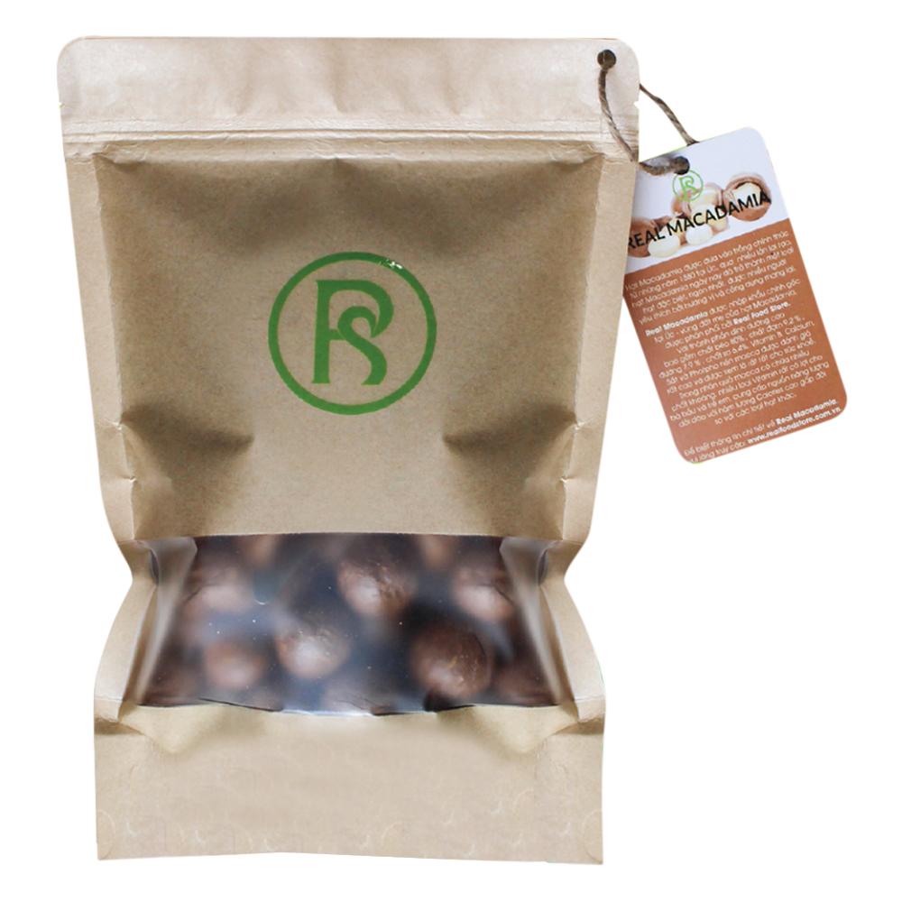 Thực Phẩm Chức Năng Hạt Dinh Dưỡng Cho Sức Khỏe Mắc Ca Real Macadamia Túi 500g