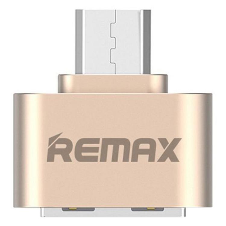 Đầu Chuyển Đổi USB OTG Remax RA-OTG - 2 Cổng Micro USB Và USB 2.0 - Hàng Nhập Khẩu