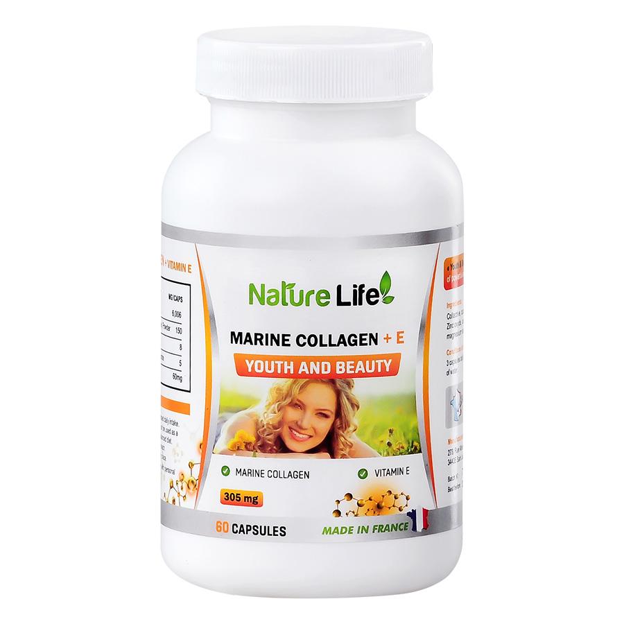 Thực Phẩm Chức Năng Nature Life Viên Uống Đẹp Da Anti - Oxydant Plus (Hộp 60 Viên)