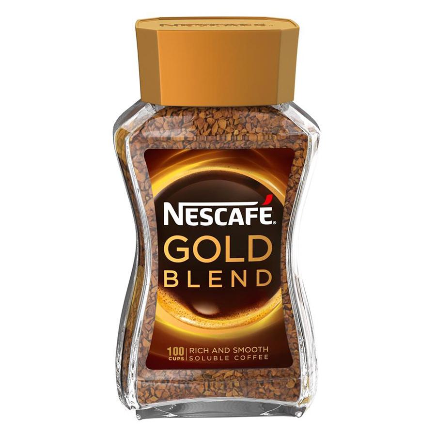 Cà Phê Bột Nescafe Gold Blend (200g)
