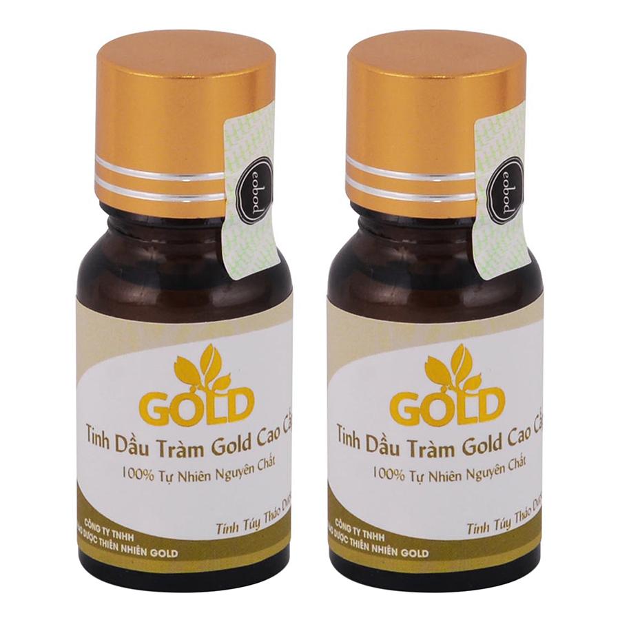 Combo 2 Tinh Dầu Tràm Gold Cao Cấp (10ml / Chai)