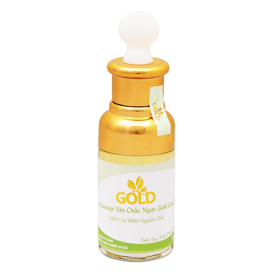Dầu Massage Săn Chắc Ngực Gold Cao Cấp (50ml)