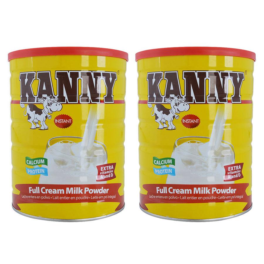 Combo 2 Hộp Sữa Bột Nguyên Kem Kanny 28% Chất Béo (900g / Hộp)