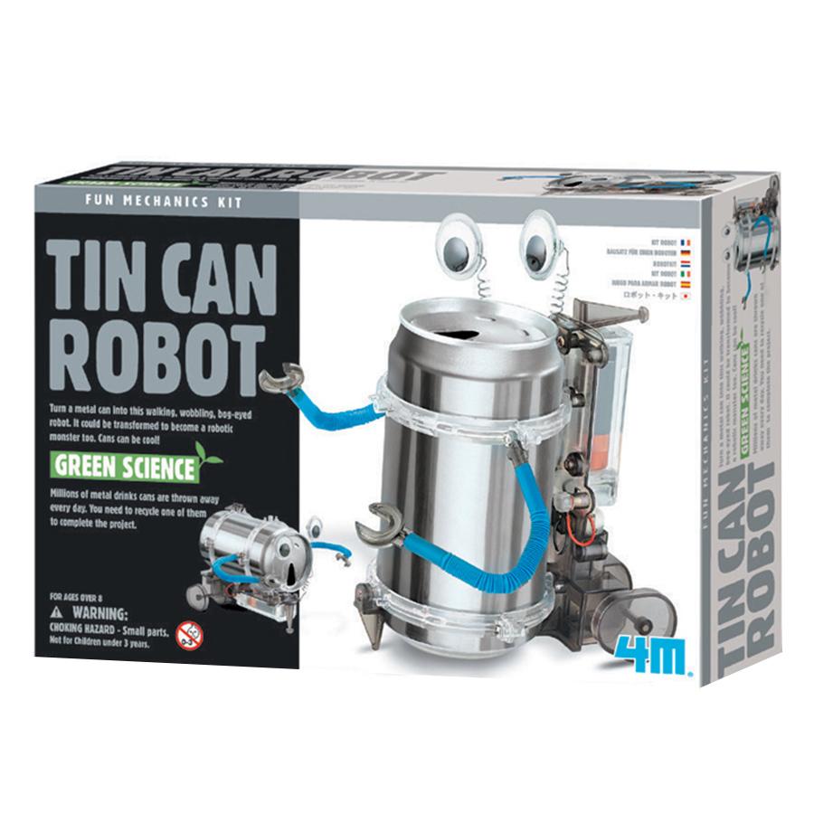 Đồ Chơi 4M Khoa Học Robot Hộp Thiếc 00-03270