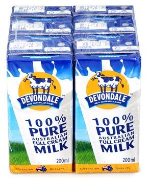 Lốc 4 Hộp Sữa Tươi Nguyên Kem Devondale Fullcream Devondale (200ml)