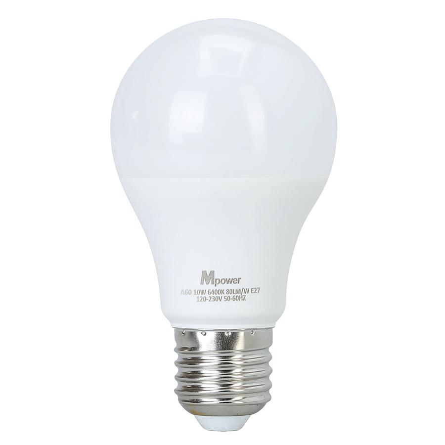 Đèn LED Bóng Tròn Mpower 10W - 3000K (10W) - Ánh Vàng