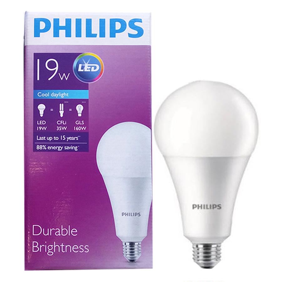 Bóng Đèn Philips Ledbulb Highlumen 19W-160W E27 6500K 230V A95