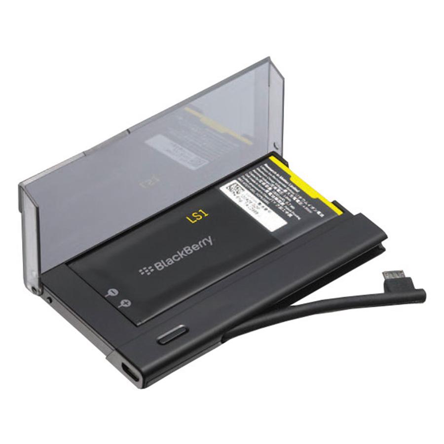 Bộ Sạc Rời + Pin L-S1 BlackBerry Z10 - Battery Charger Bundle - Đen - Hàng Chính Hãng
