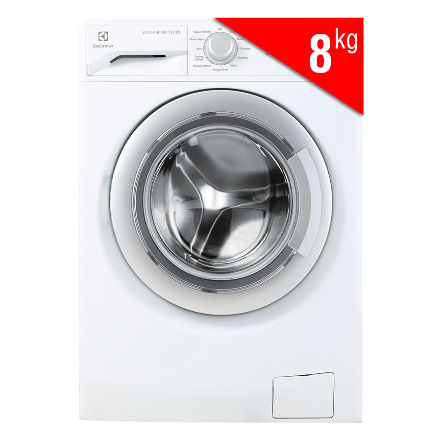 Máy Giặt Sấy Cửa Ngang Inverter Electrolux EWW12853 (8kg) – Trắng