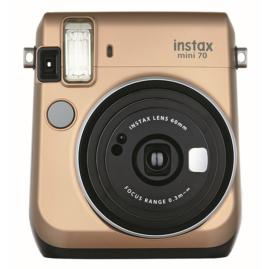 Máy Ảnh Selfie Lấy Liền Fujifilm Instax Mini 70 - Vàng Đồng