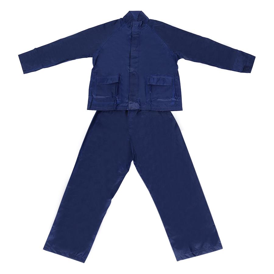 Áo Mưa Bộ Cotoco Vải Polyester Cao Cấp #2000-1 - Xanh Navy (Size XL)