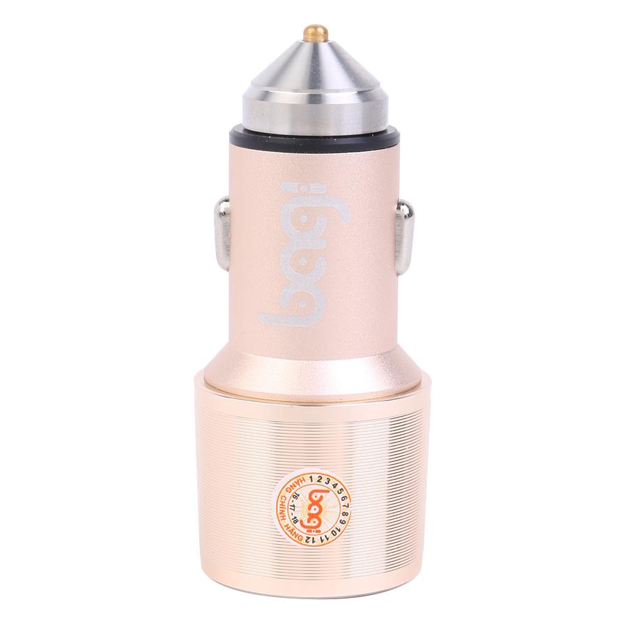 Adapter Ô Tô Bagi CC-O30 Quick Charge 3.0 - Hàng Chính Hãng