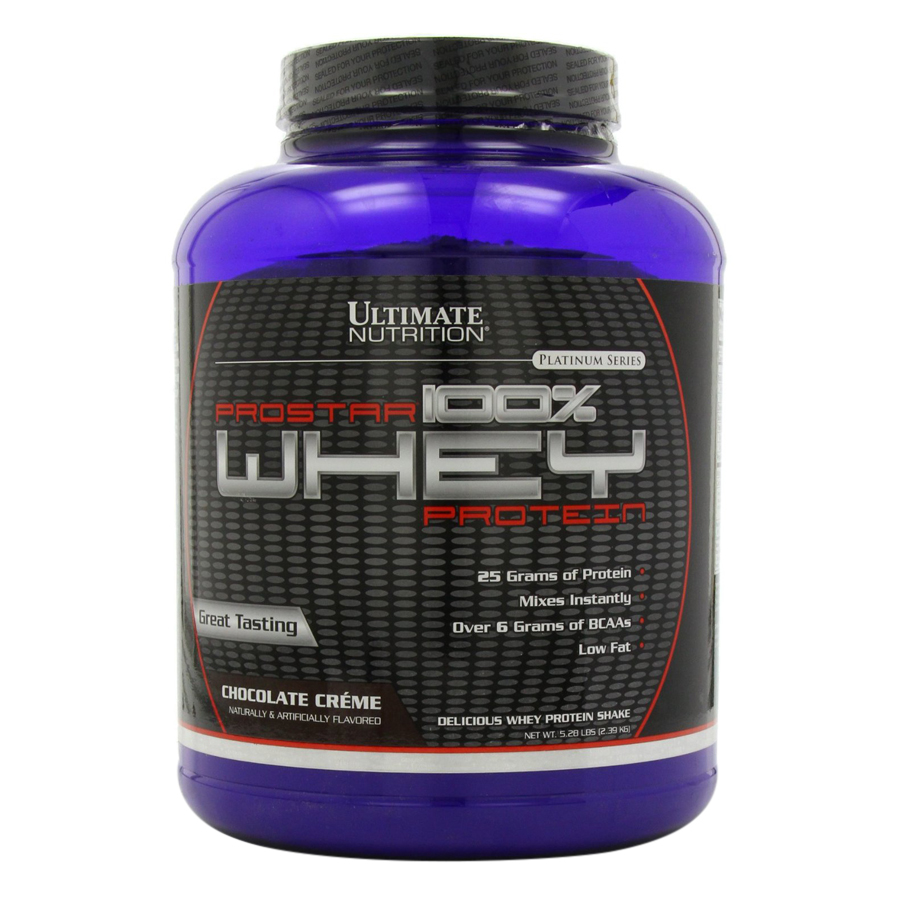 Sữa Tăng Cơ Vị Chocolate Prostar 100% Whey Protein Ultimate Nutrition SMUN149 (2.39kg)