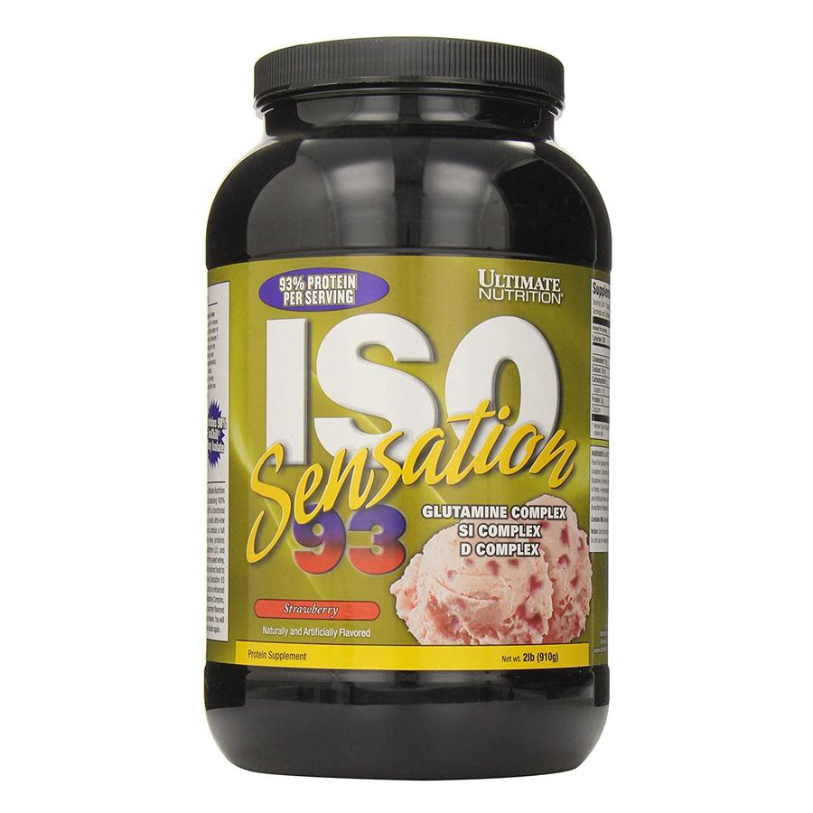 Sữa Tăng Cơ Vị Dâu ISO Sensation 93 Ultimate Nutrition SMUN284 (910g)