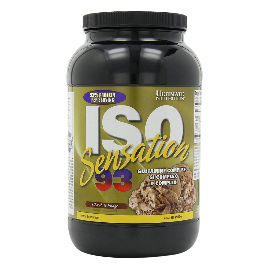 Sữa Tăng Cơ Vị Chocolate ISO Sensation 93 Ultimate Nutrition SMUN280 (910g)