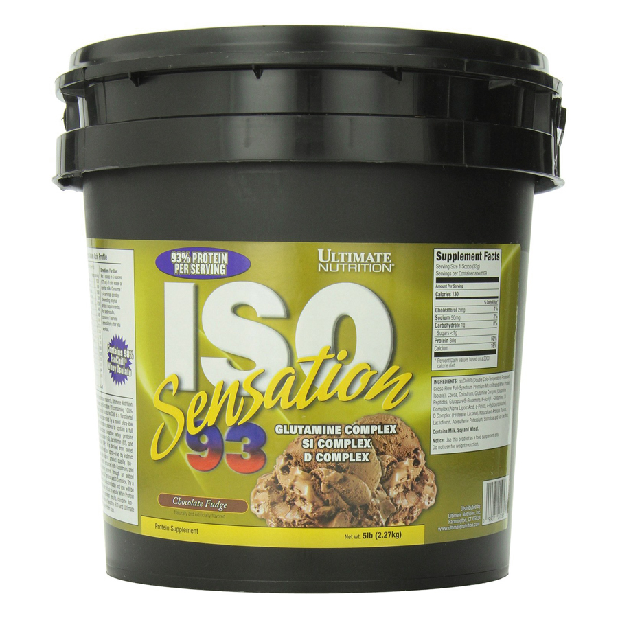 Sữa Tăng Cơ Vị Chocolate ISO Sensation 93 Ultimate Nutrition SMUN285 (2.27kg)