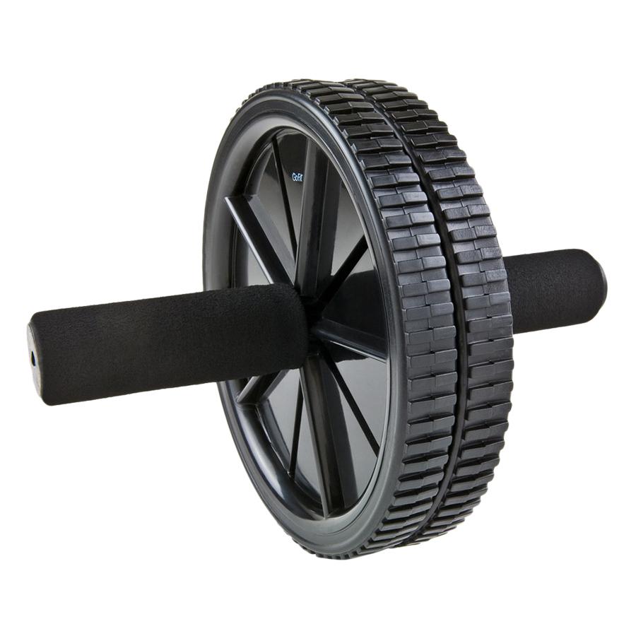 Bánh Xe Tập Cơ Bụng Dual Exercise AB Wheel GoFit PKGF0210