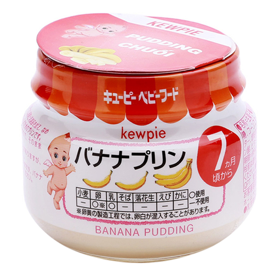 Pudding Chuối Kewpie (70g)