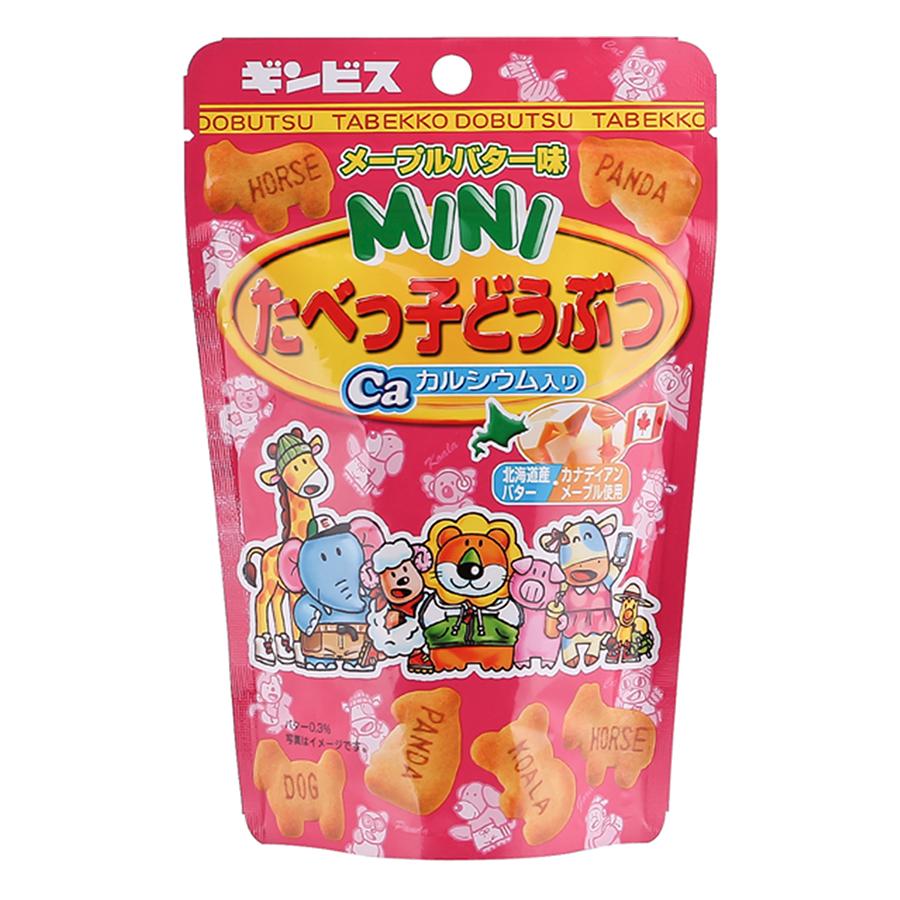Thực Phẩm Bổ Sung: Bánh Quy Mini Maple Butter Ginbis (45g)