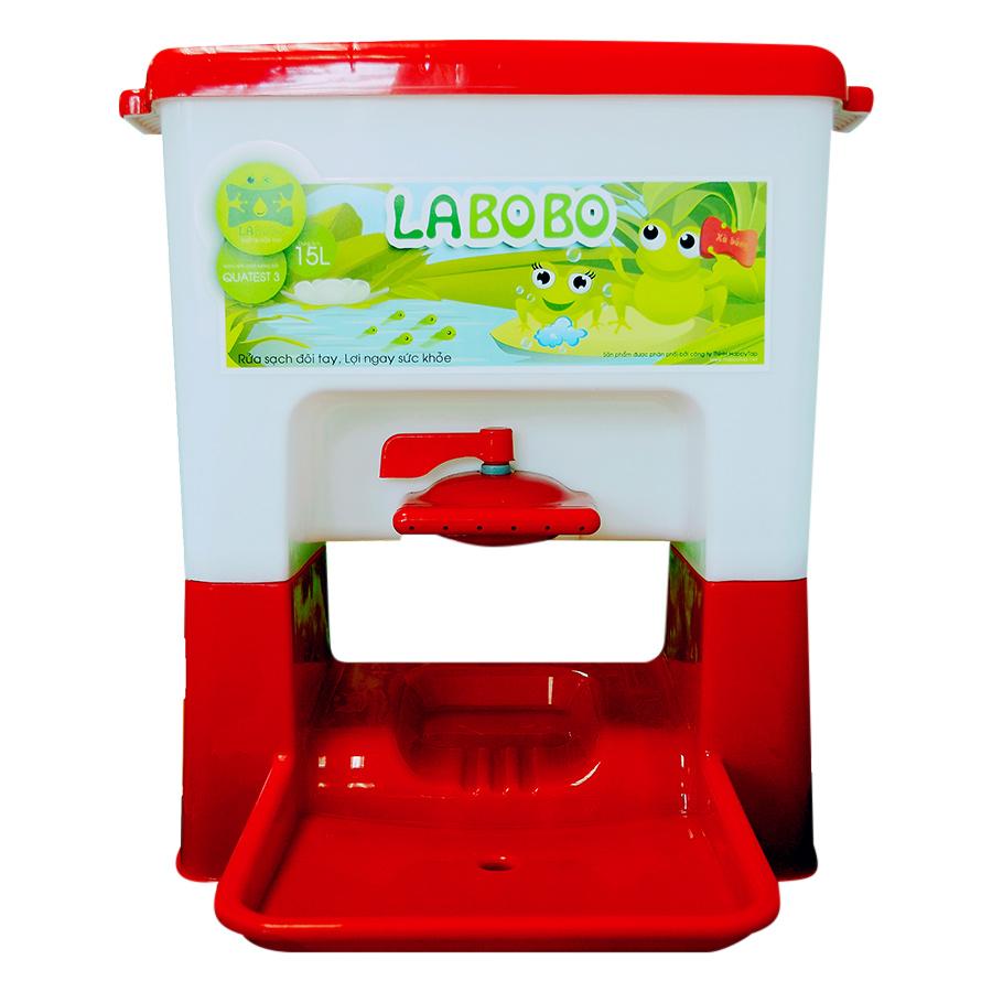 Lavabo Di Động Cho Trẻ Em LaBobo - Đỏ