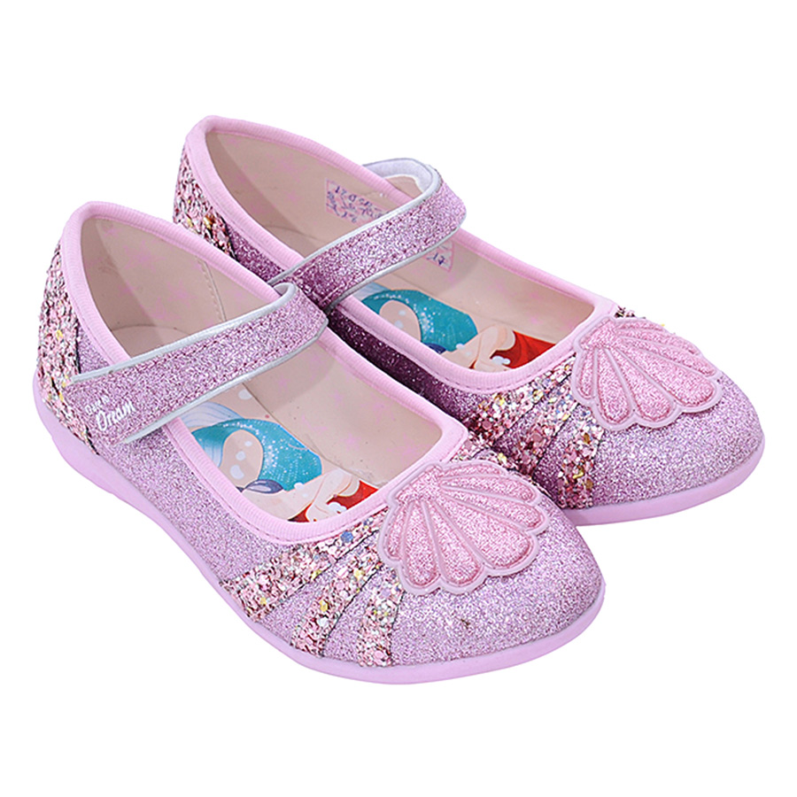 Giày Búp Bê Biti's Bé Gái Disney Princess DBB005011HOG - Hồng