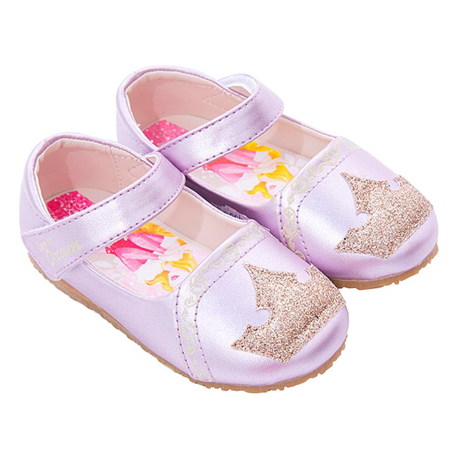 Giày Búp Bê Bé Gái Bitis's Disney Princess DBB005411HOG - Hồng