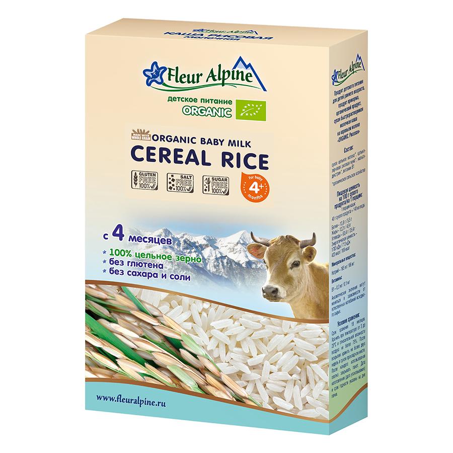 Bột Pha Sữa Organic Gạo Fleur Alpine (200g)