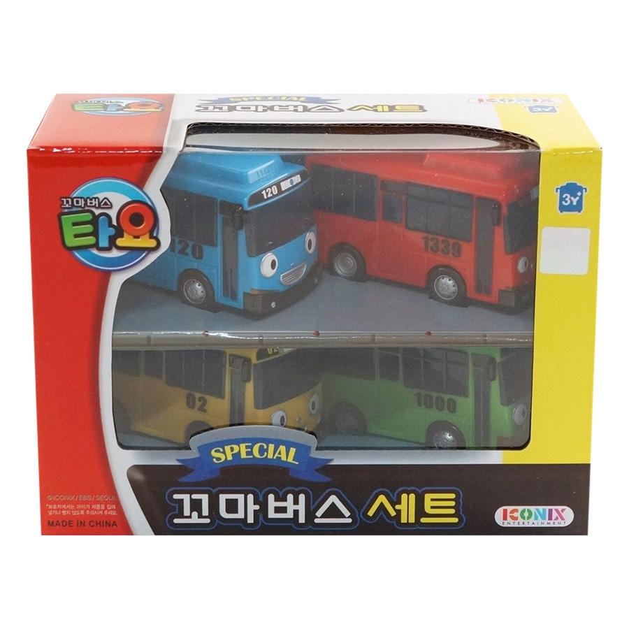 Đồ Chơi Special Little Bus Set Young Toys