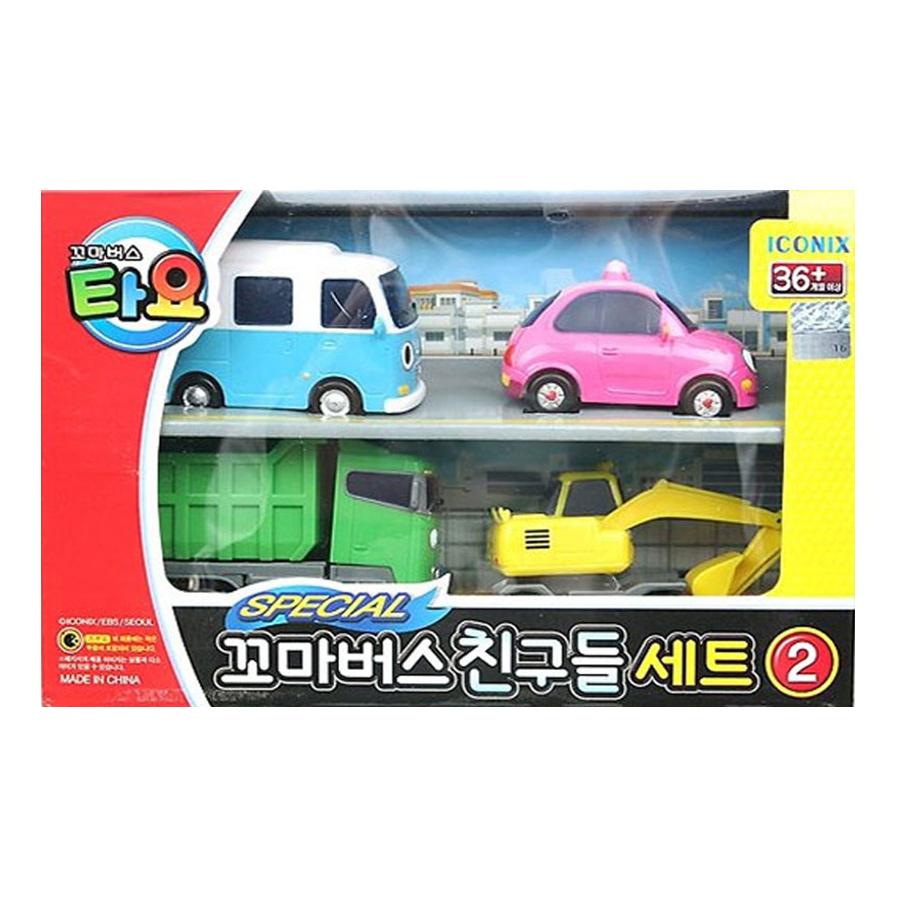 Đồ Chơi Mini Car Set 4 Style 2 Young Toys