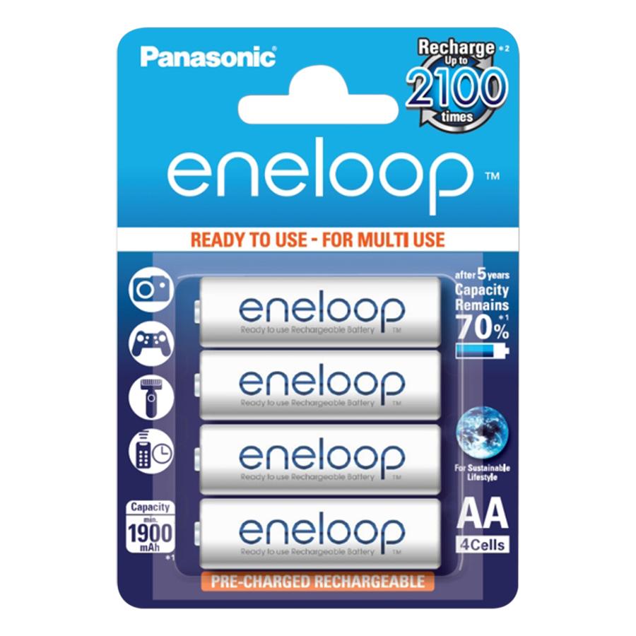 Pin AA Panasonic Eneloop BK-3MCCE (1900mAh)